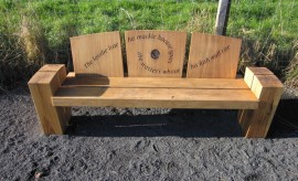 Marion Smith - Loch Leven - Fish Gate seat